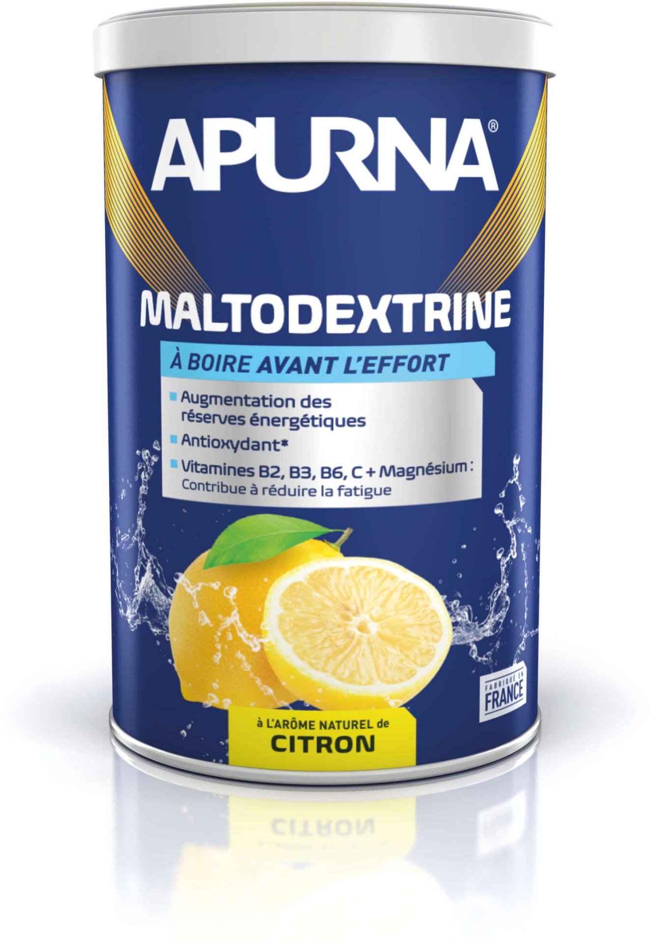 Maltodextrine Apurna Citron Pot 500 g
