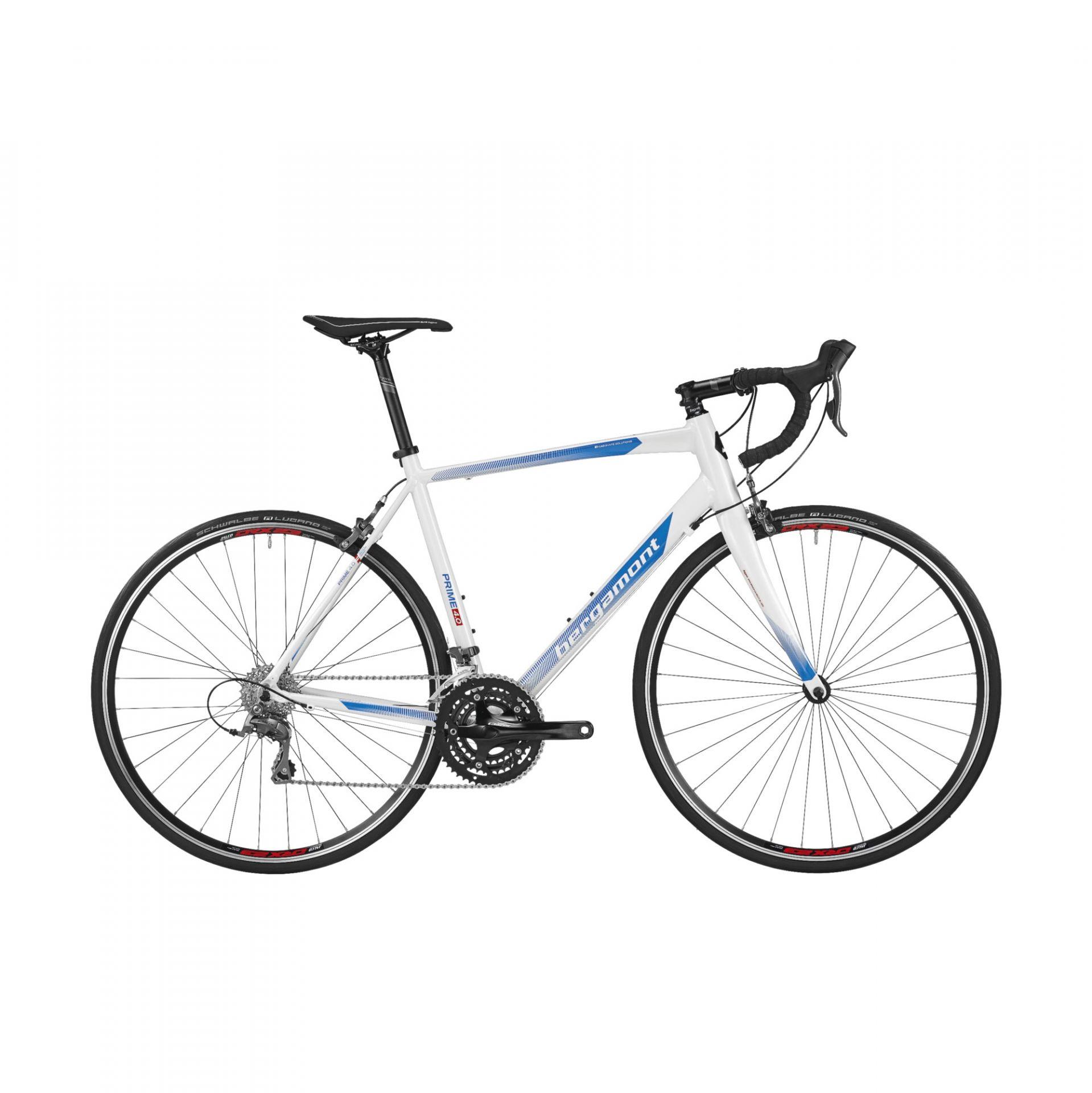 Vélo de route Bergamont Prime 4.0 Blanc/Bleu - 47 cm