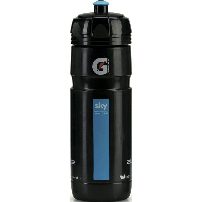 Bidon Elite Super Corsa Team Sky 750 ml Noir/Bleu