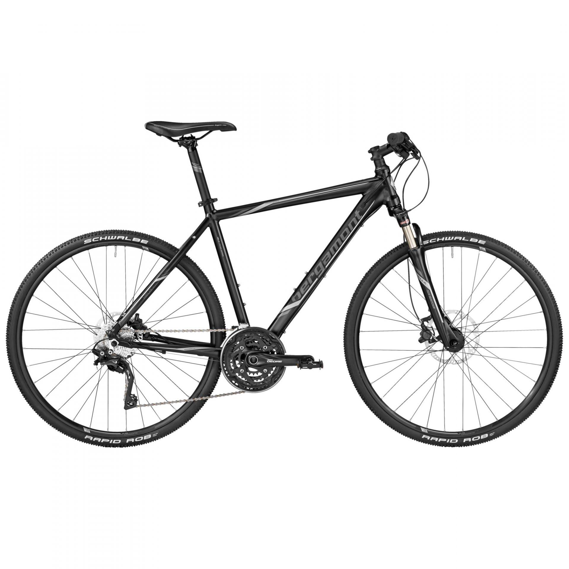 VTC Bergamont Helix 9.0 Noir/Gris/Argent - 52 cm