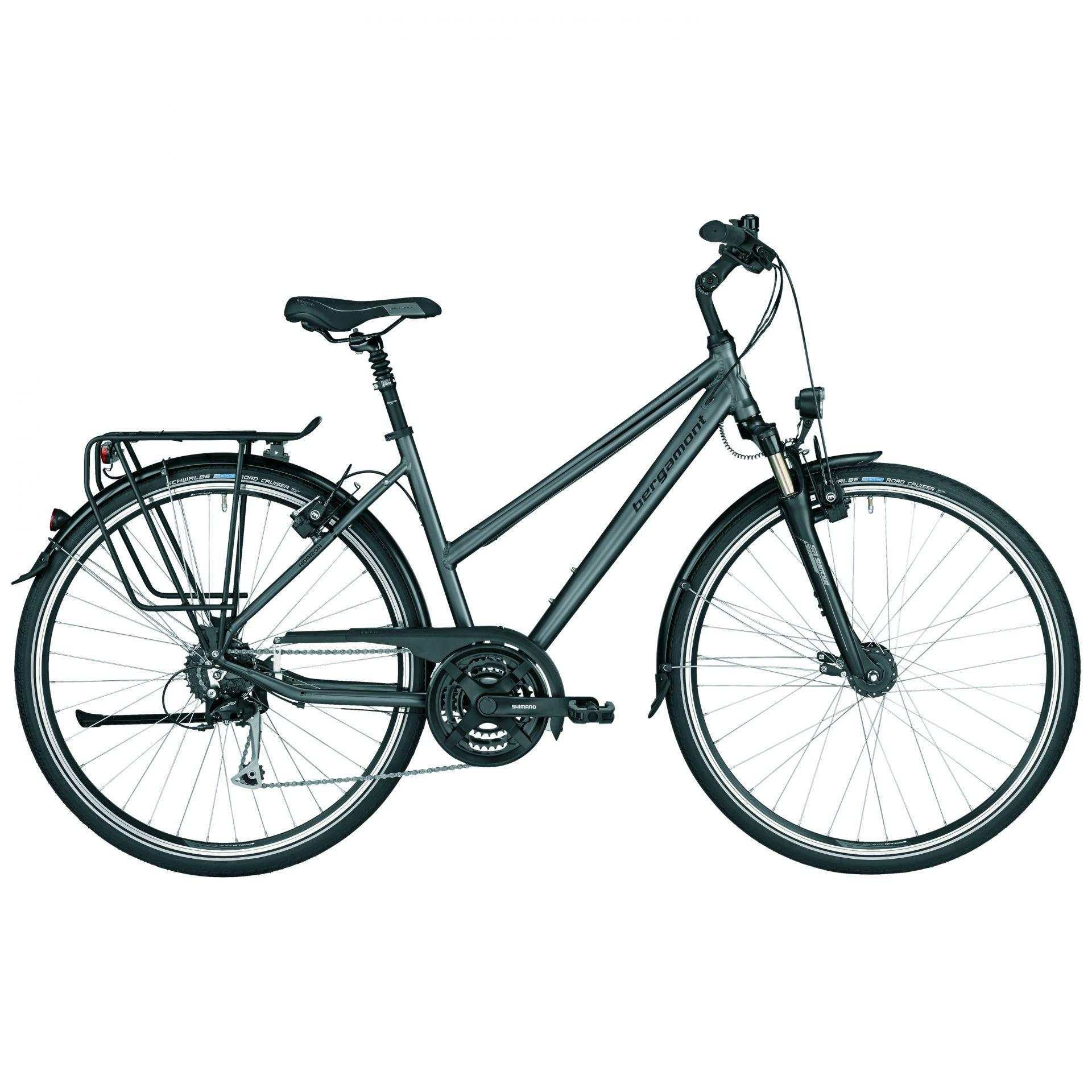 Vélo urbain Bergamont Horizon 5.0 Amsterdam Gris/Noir - 44 cm