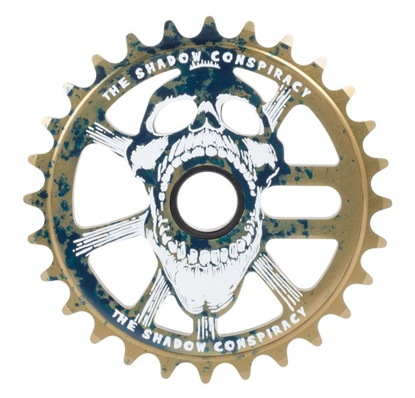 Couronne TSC Scream Sprocket 25 dents Oil Spill