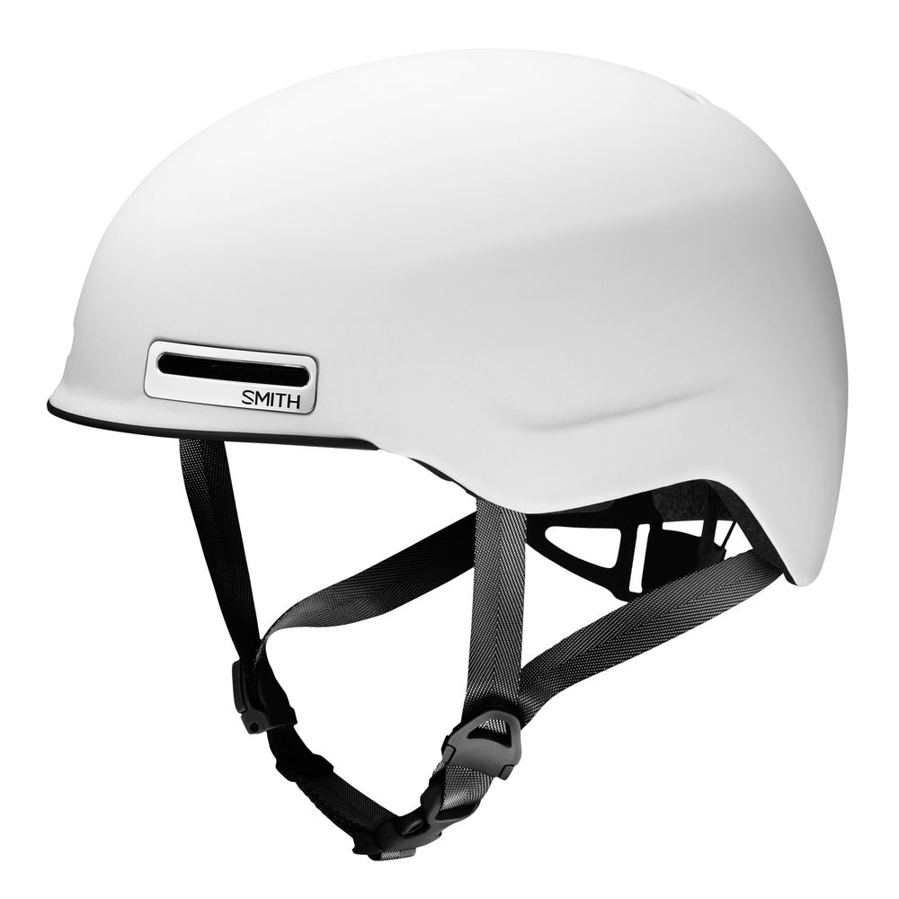 Casque Smith Maze Bike Mat Blanc - S / 51-55 cm