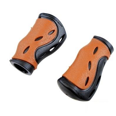 Poignées ProGrip 988 Dual ergonomiques 85 mm Marron/Noir