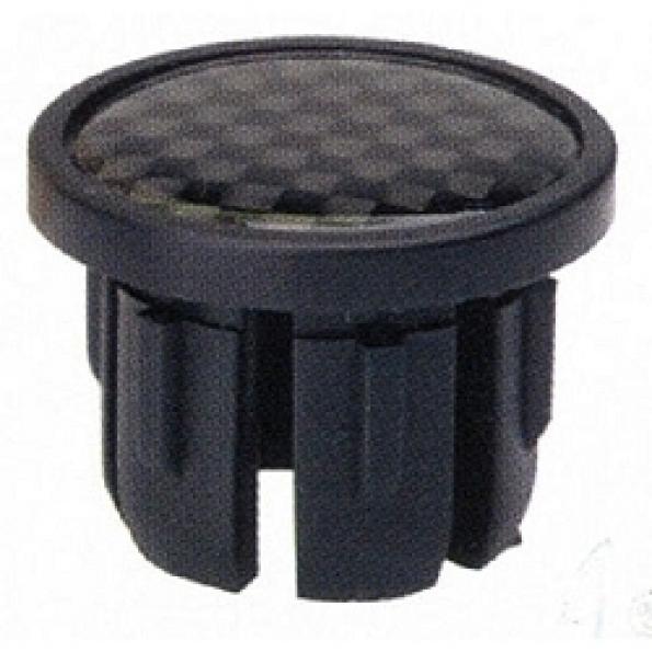 Embout pour cintre course (x2) Noir aspect Carbone