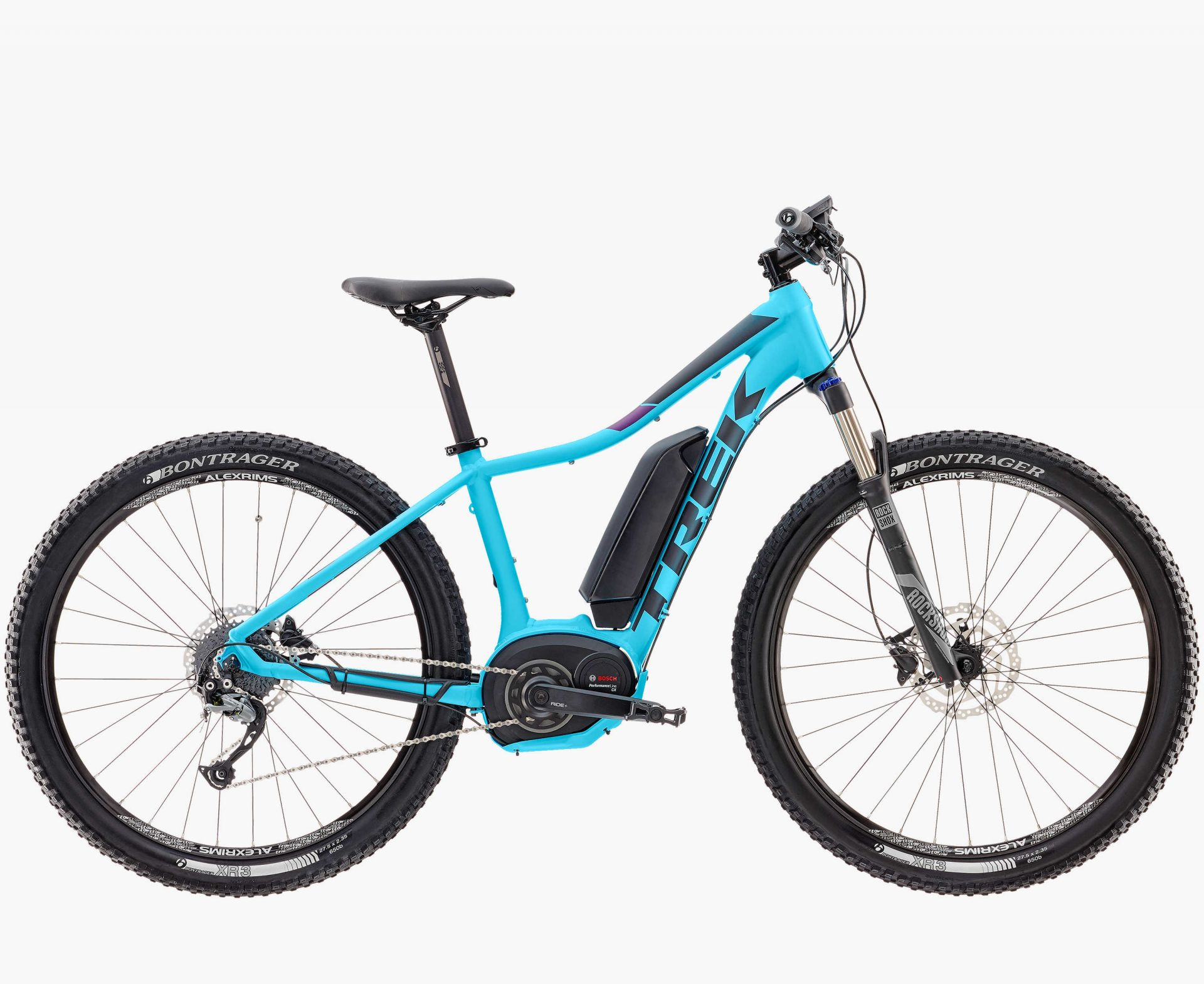 VTT à assistance électrique Trek Powerfly 5 WSD (Sky Blue) - 15.5\