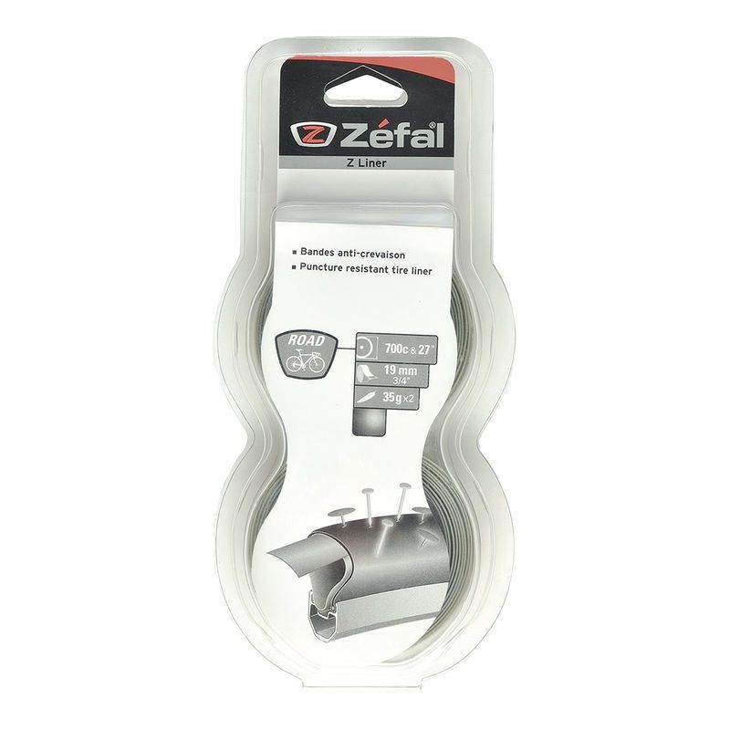 Bande anticrevaison Zefal Z-Liner gris Route 650b/700c 19 mm