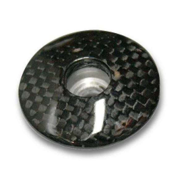 Bouchon carbone pour fourche 1 pouce ø24 mm