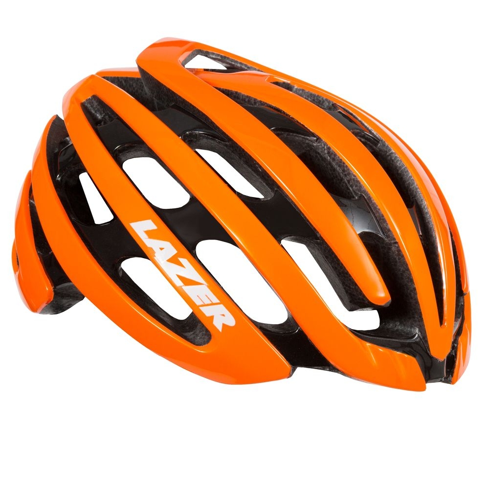 Casque Lazer Z1 CE / Flash Orange + aeroshell - M
