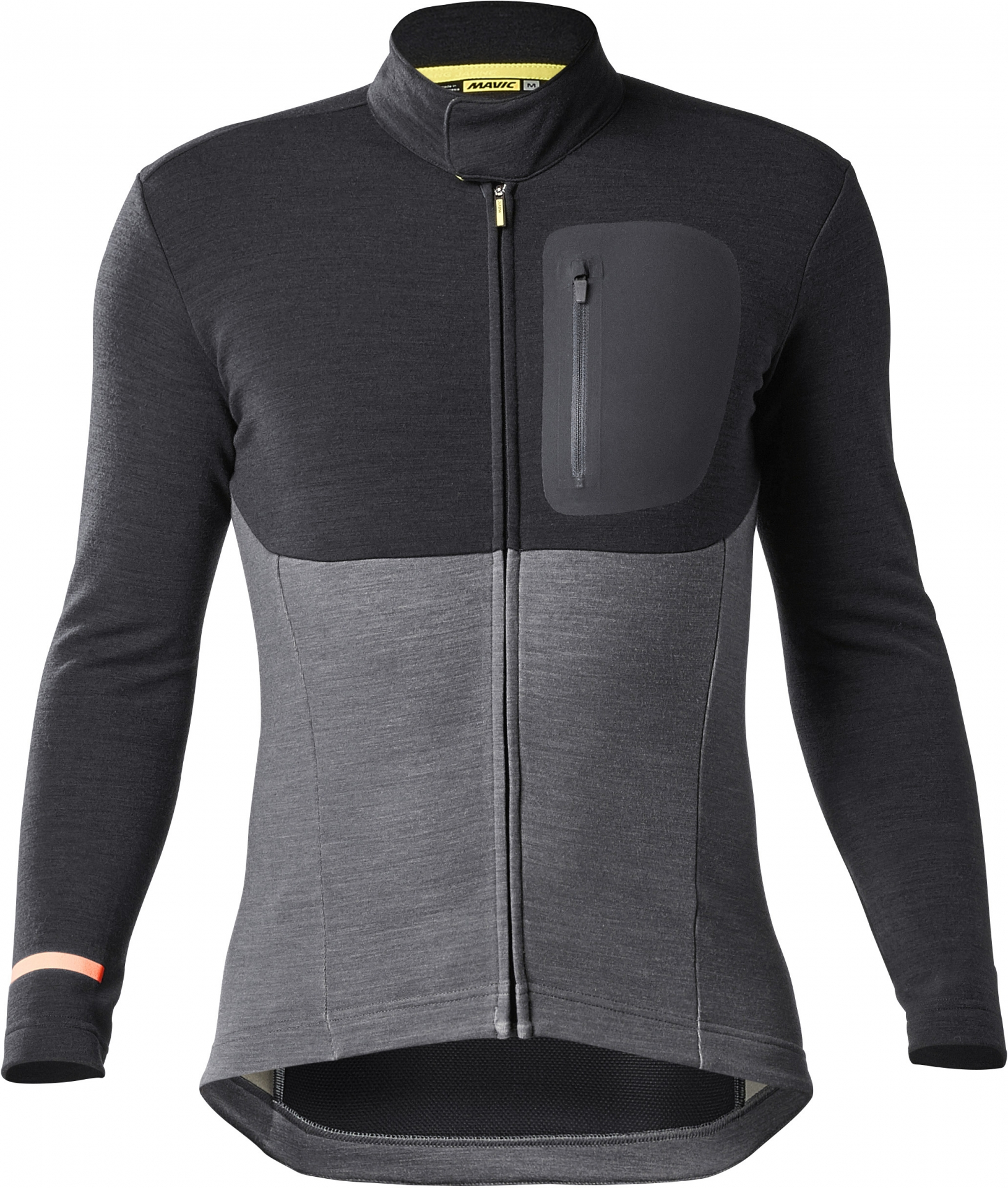 Maillot manches longues Mavic All Road Thermo Noir/Asphalt - XL