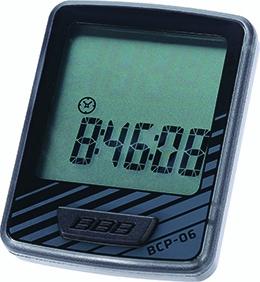 Compteur filaire BBB DashBoard 10 fonctions Noir/Gris - BCP-06