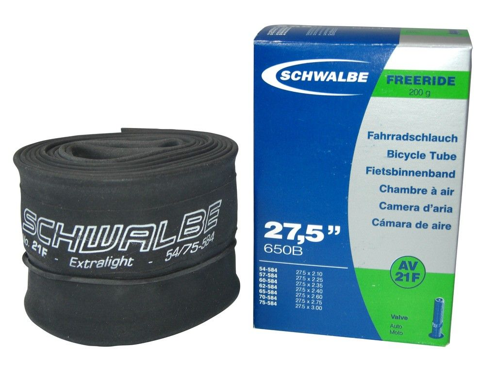 Chambre à air Schwalbe 27.5+ 27.5 x 2.10/3.00 Freeride SV21F Presta 40mm