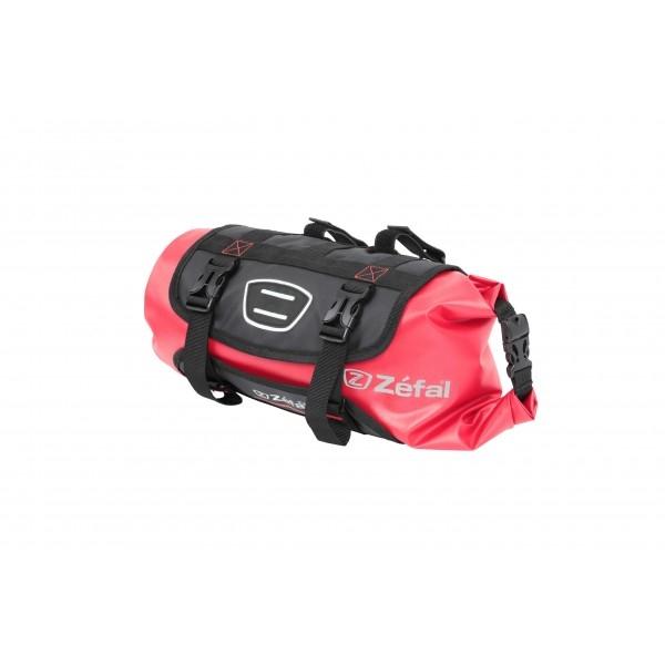 Sacoche de cintre Zéfal Z Adventure F10 Bikepacking 10 L Noir/Rouge