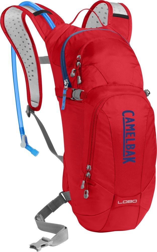 Sac à dos d'hydratation CamelBak Lobo racing red/pitch blue