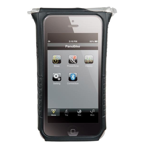 Housse étanche et support Topeak SmartPhone DryBag - Apple iPhone 5 & 5S (noir)