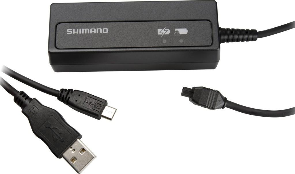 Chargeur USB Shimano SM-BCR2 pour batterie Di2 interne