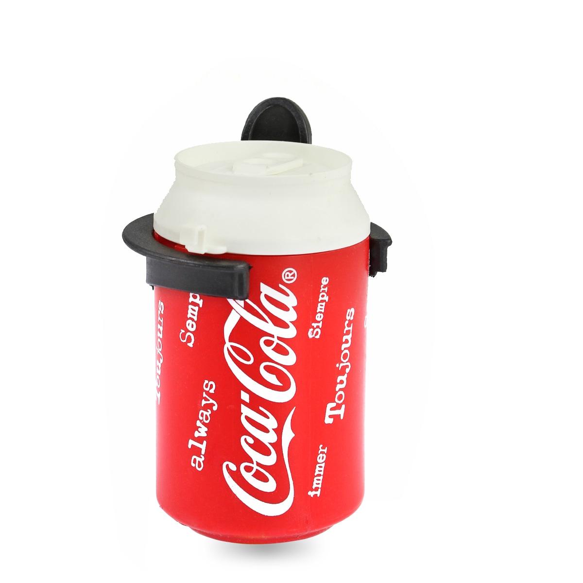 Porte bidon + bidon canette Coca-Cola