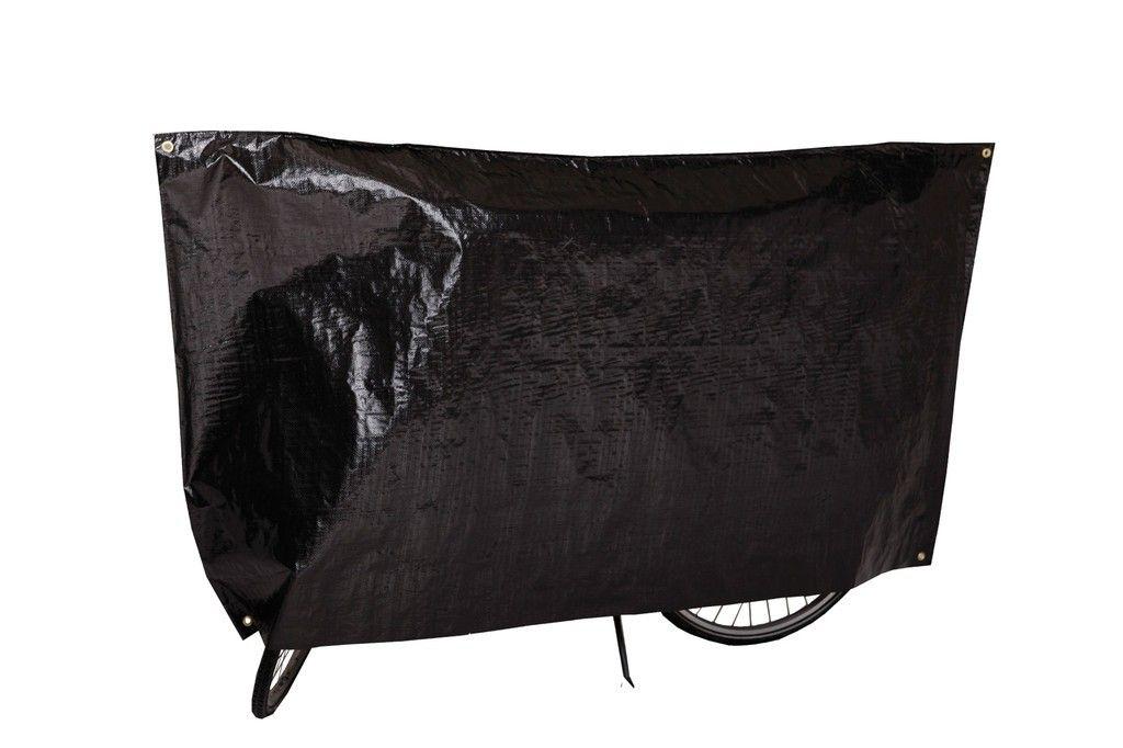 Housse vélo VK avec illets et cordon Noir