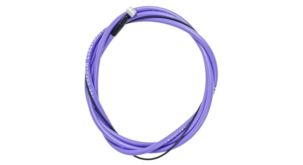 Câble + gaine de frein BMX TSC Linear Violet