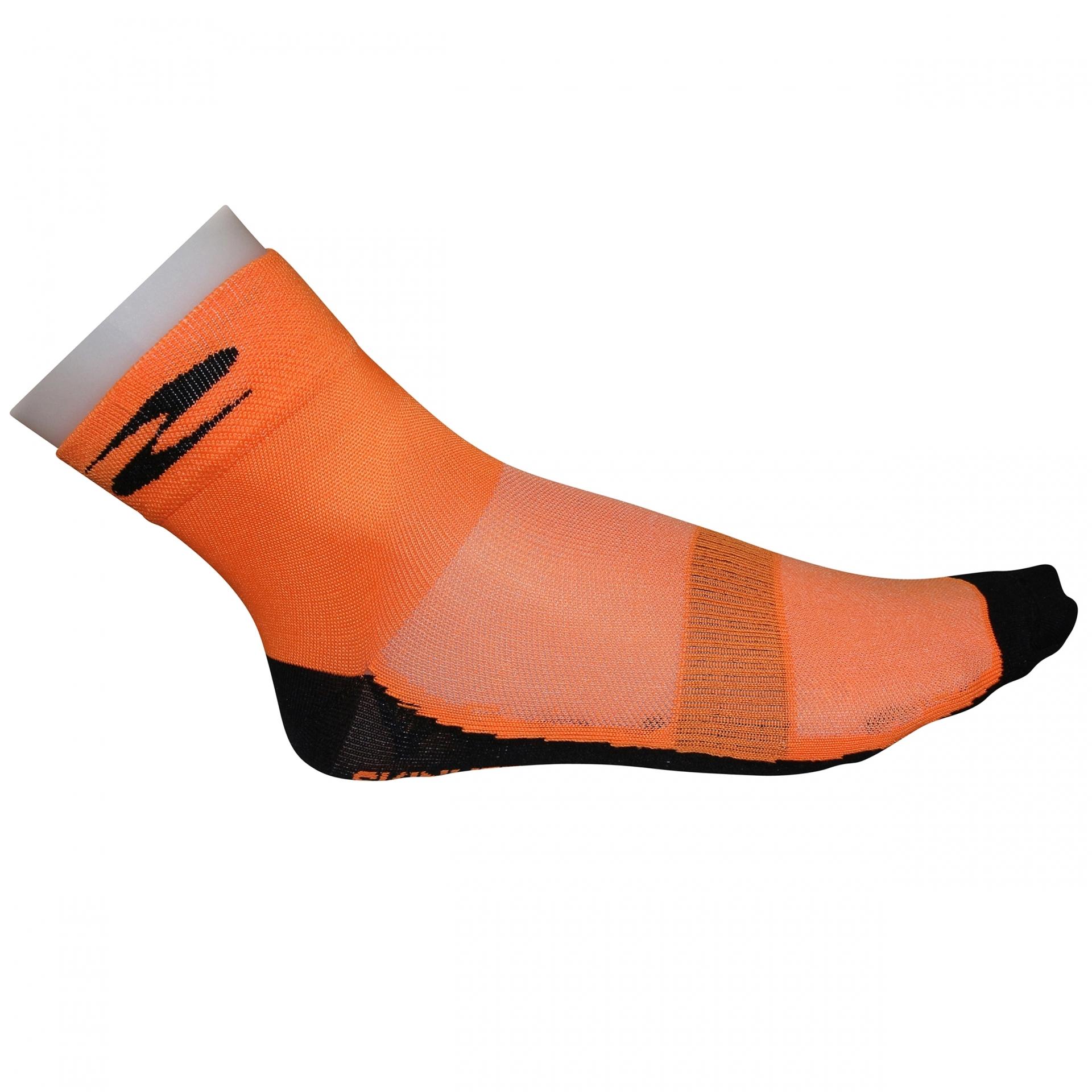 Socquettes été GIST Coton 10 cm Orange - 36-39
