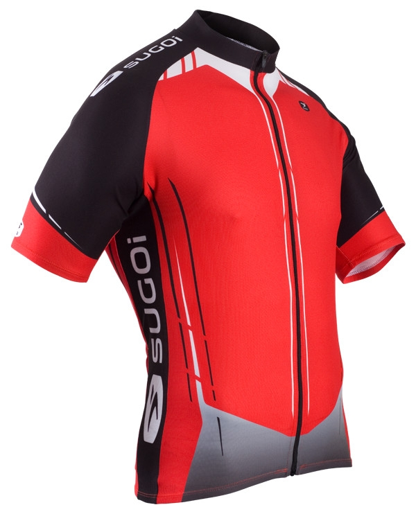 Maillot Sugoi Evolution Manches Courtes Rouge - S