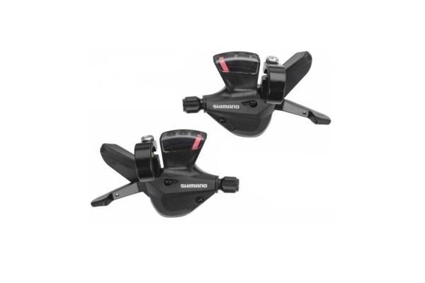Manettes de vitesses Shimano Altus M310 3x7V (Paire) Noir