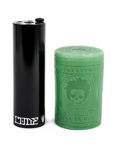 Peg Subrosa Code 10 mm + wax Noir (Lunité)