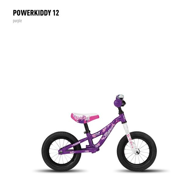 Draisienne Ghost Powerkiddy 12 Violet
