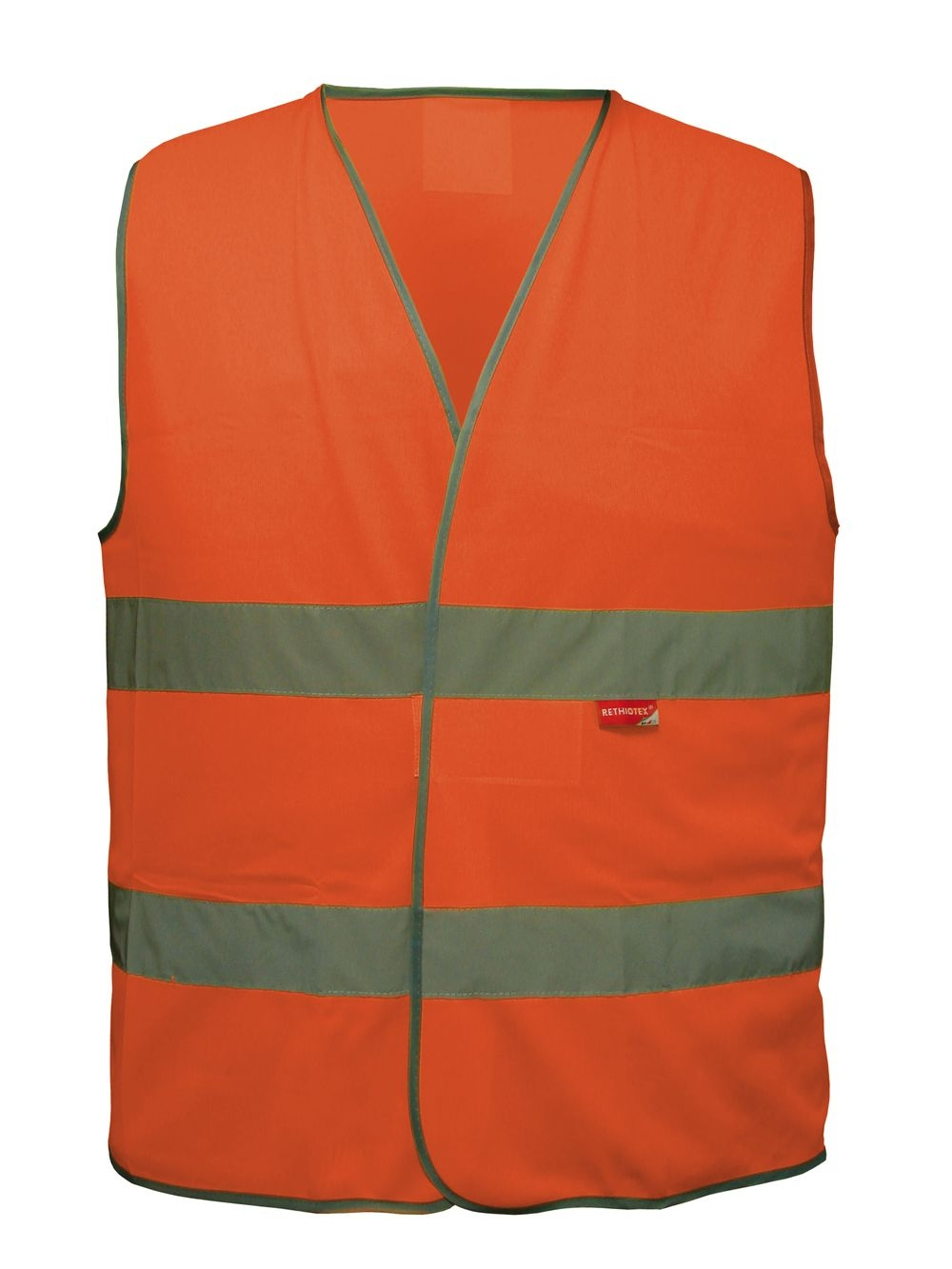 Gilet sécurité Adulte L2S Visio 543 Orange fluorescent - M