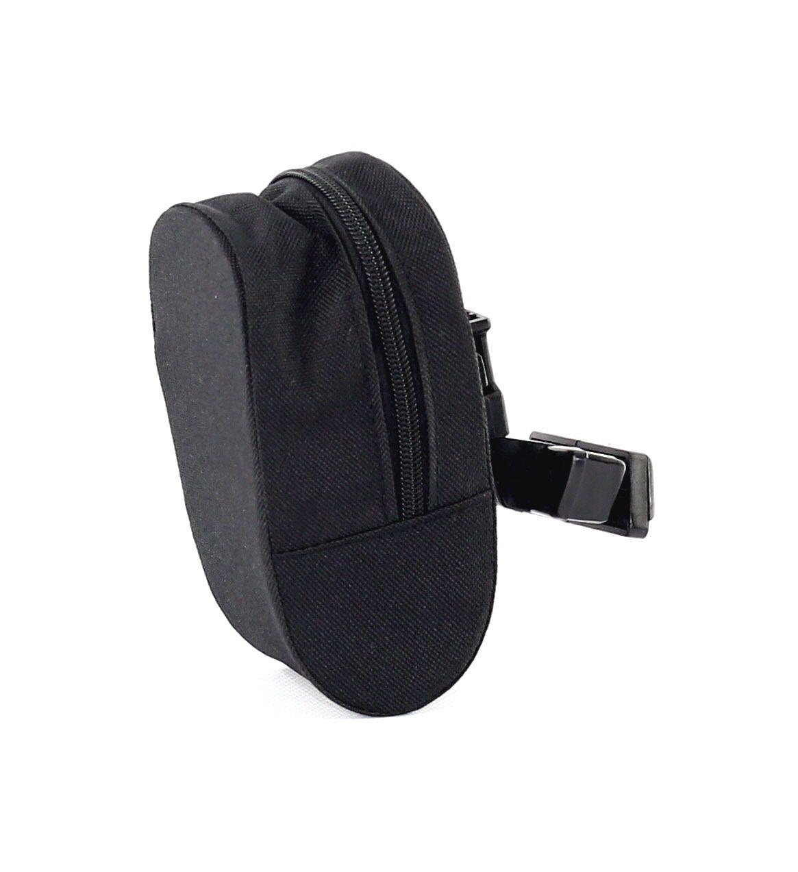 Sacoche de selle zippée Noir