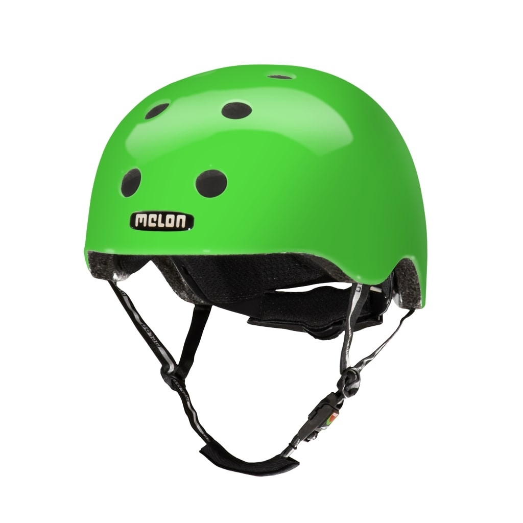 Casque Melon Urban Active Pure Glossy Greeneon - XL-XXL / 58-63 cm