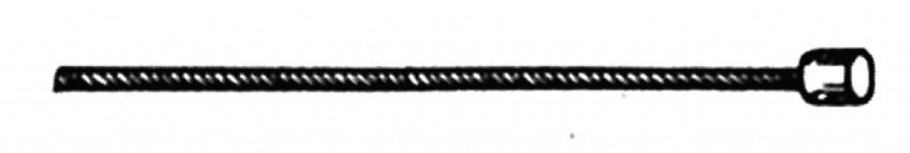 Câble de dérailleur SRAM inoxydable de 3000 mm