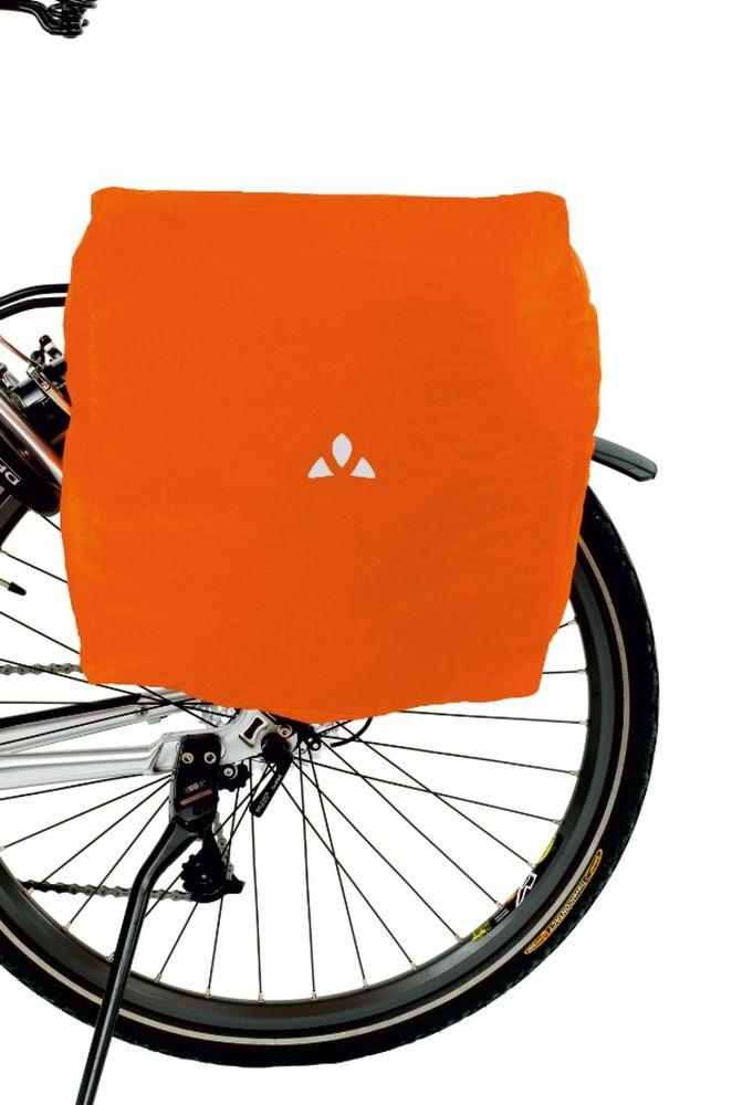 Housse imperméable Vaude pour sacoche latérale Orange