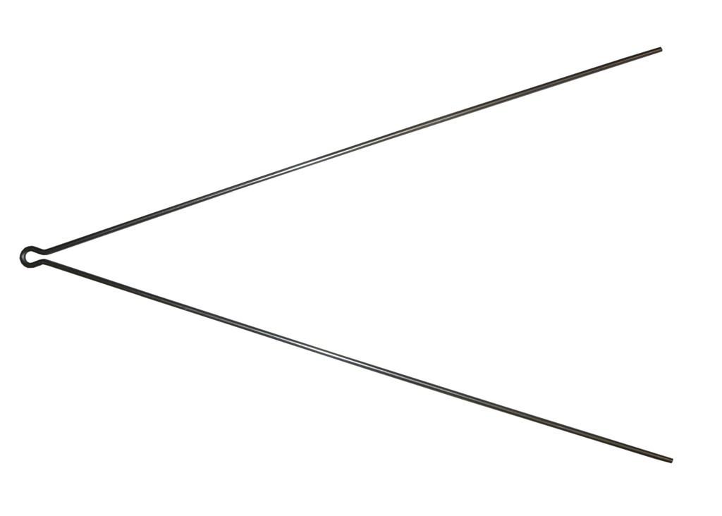 Tringle de garde-boue SKS en V 3,4x380 mm (Unité)