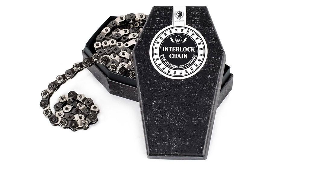 Chaîne TSC Interlock Chain V2 Argent / Noir