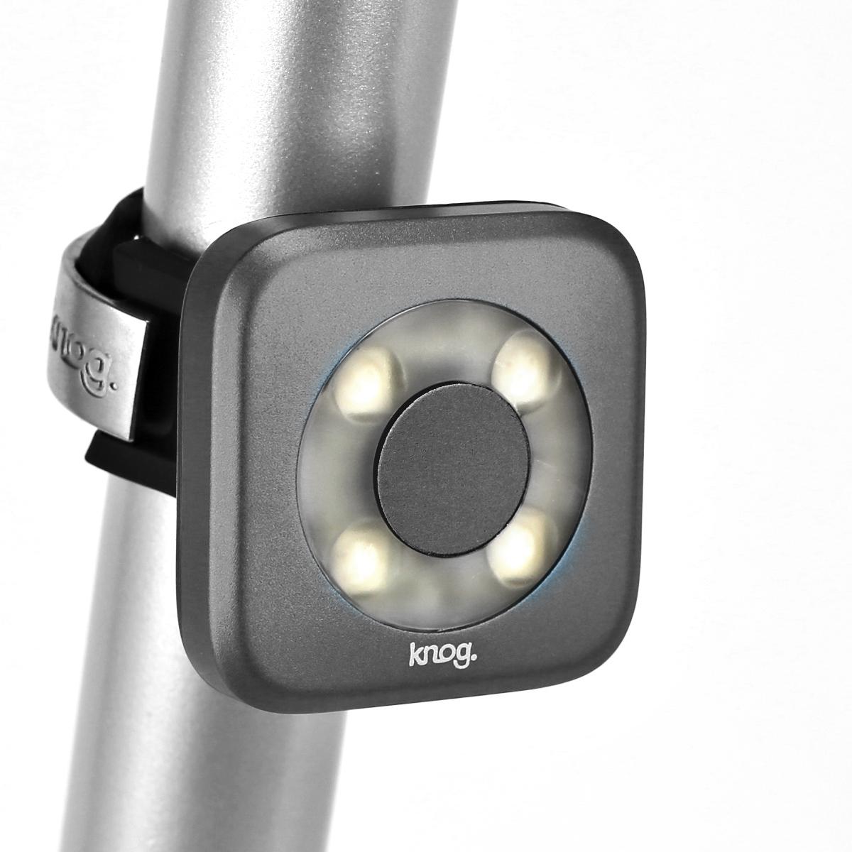 Éclairage avant Knog Blinder Cercle 4 LED - Bleu