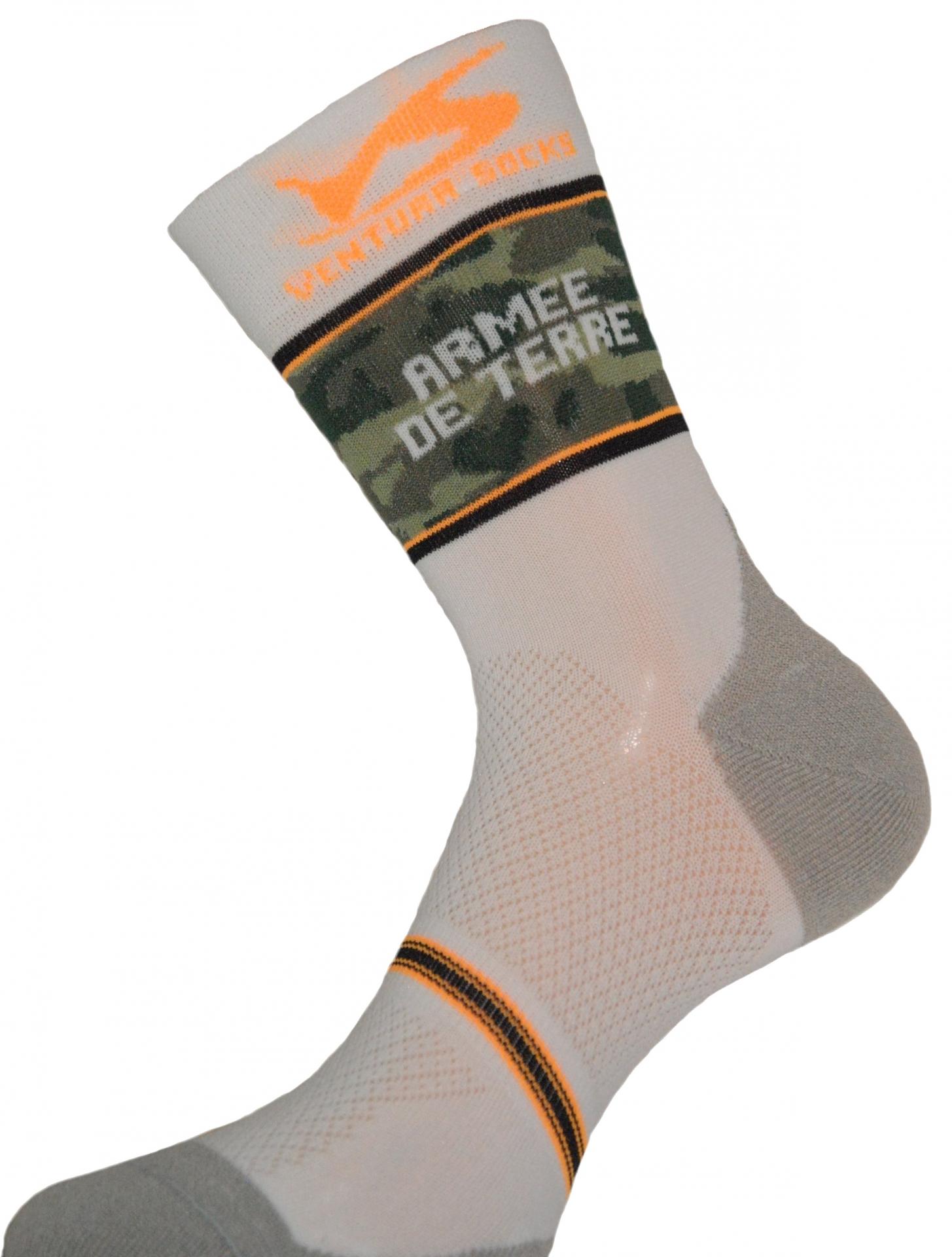 Chaussettes Ventura Socks Carbone Team Armée de Terre - 39/42