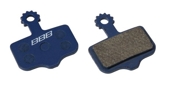 Plaquettes BBB comp. Avid Elixir / SRAM XX / XO organiques - BBS-441