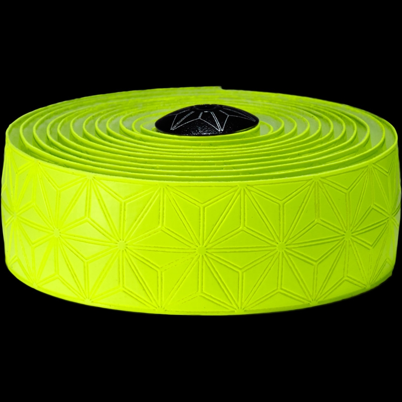 Ruban de cintre Supacaz Super Sticky Kush Tape Jaune Fluo