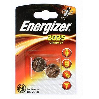 Pile Energizer CR2025 Lithium 3V (Jeu de 2)