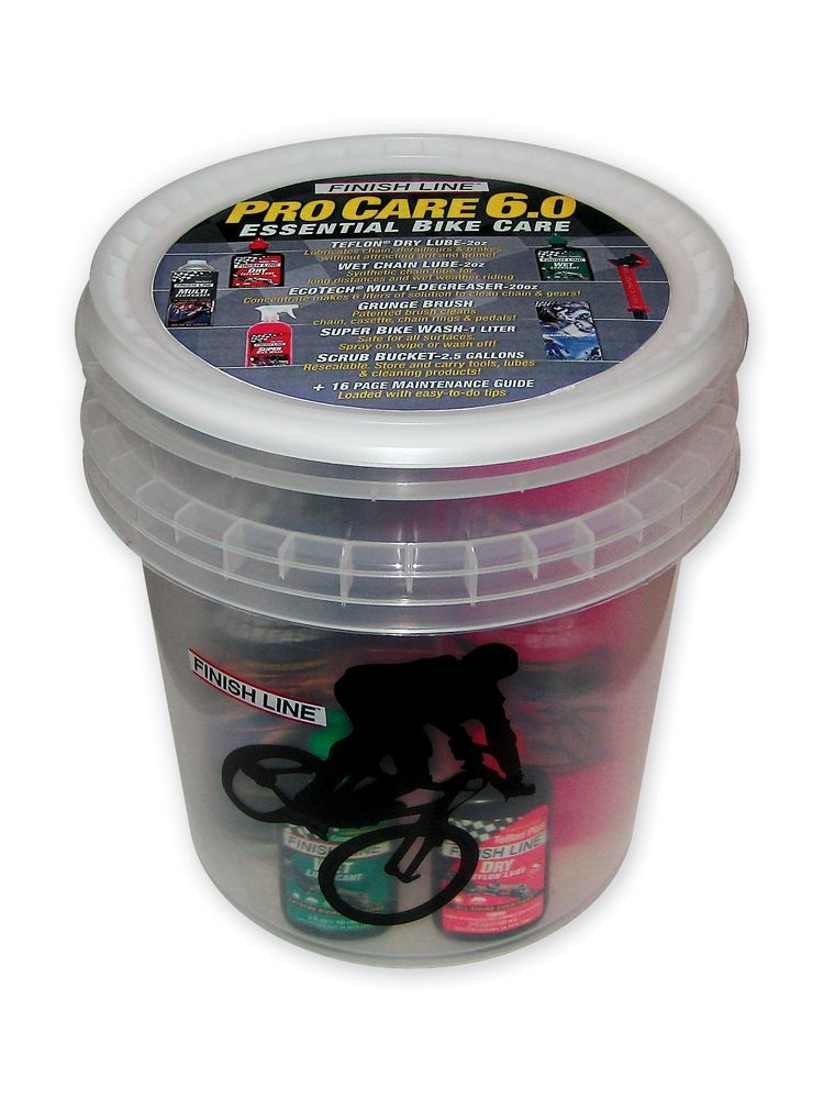 Kit d'entretien Finish Line Pro Care 6.0 Bucket (Seau)