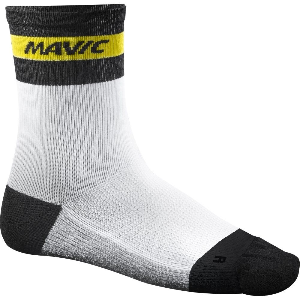 Chaussettes Mavic Ksyrium Carbon Sock Blanc - 39/42