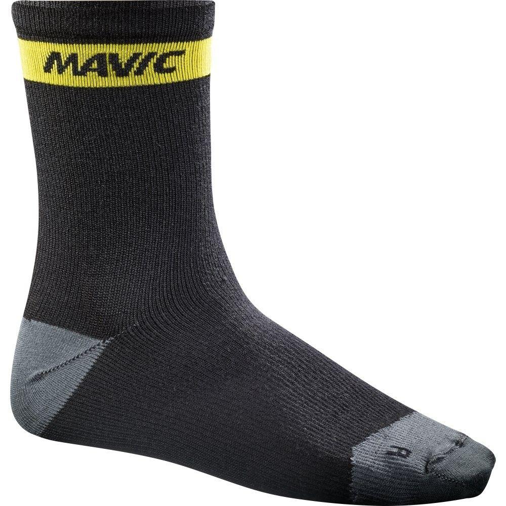 Chaussettes Mavic Ksyrium Merino Sock Noir - 35/38