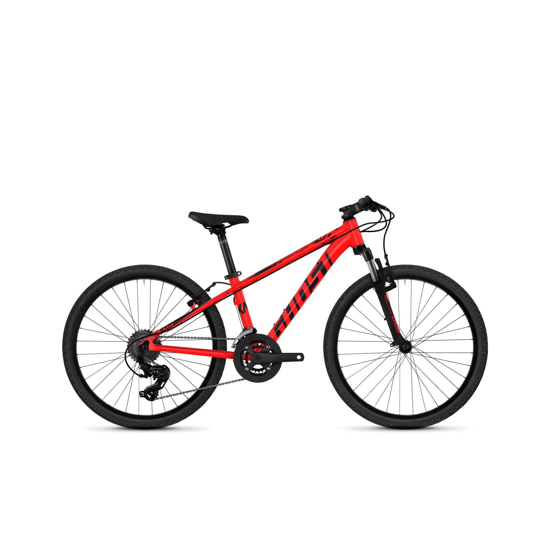 VTT semi-rigide Ghost Kato Kid 2.4 24 Rouge