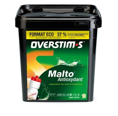 Boisson énergétique Malto Antioxydant Format Éco 2 Kg Overstims - Neutre