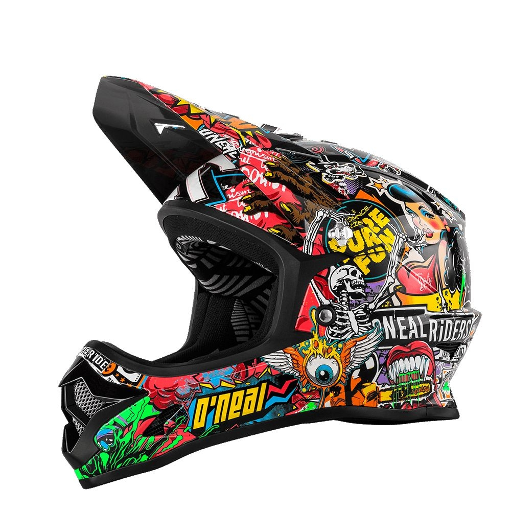 Casque O'Neal Backflip RL2 Evo Crank Enfant Multi - L