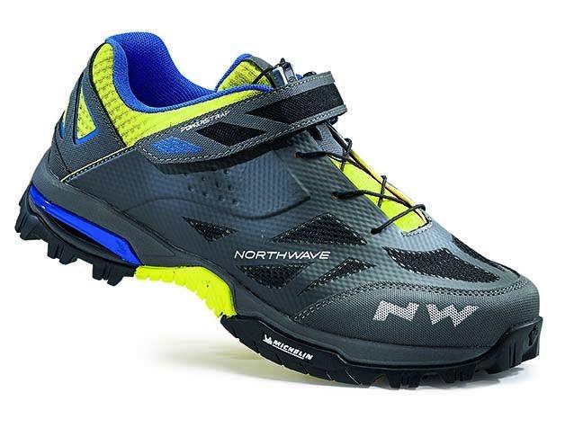 Chaussures Northwave Enduro Anthracite/Jaune fluo - 42