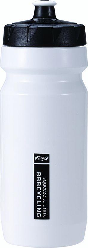 Bidon BBB CompTank 550 ml Blanc/Noir - BWB-01