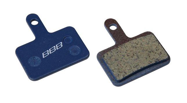 Plaquettes BBB comp. Shimano Deore M525 hydrau./M575/Tektro Drako organiques - BBS-53