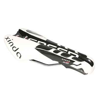 Selle Xinda Route-Triathlon XD829 260x130 mm Blanc/Noir